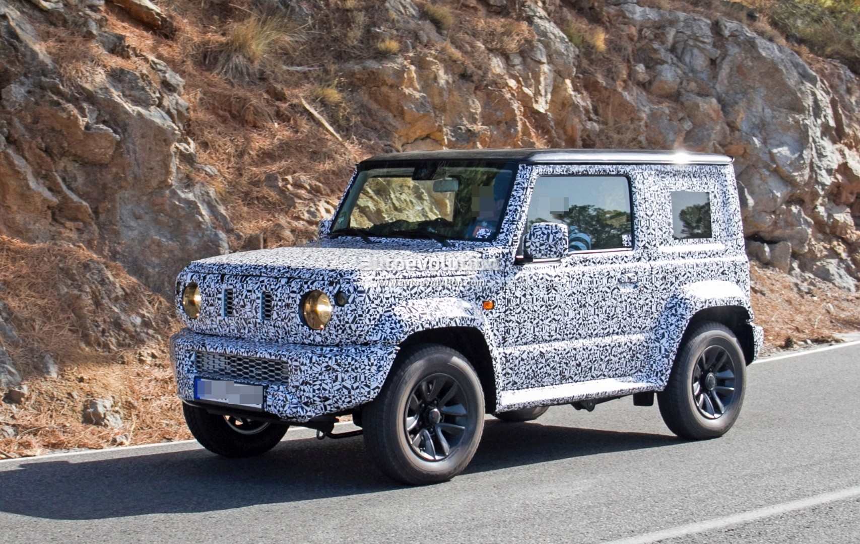 Spyshots: New Suzuki Jimny Looks Like a Tiny Mercedes-Benz G-Class