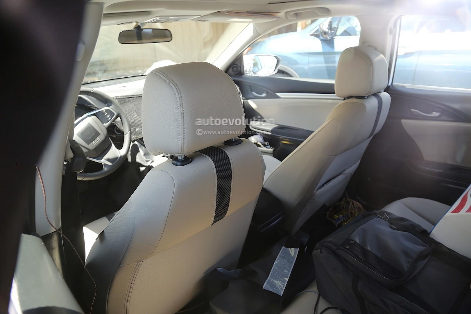 Spyshots: Next-Gen 2017 Honda Civic Sedan Interior Revealed, New ...