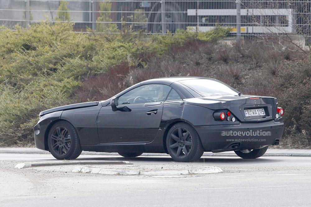 Spyshots Next Generation Mercedes Slk Autoevolution