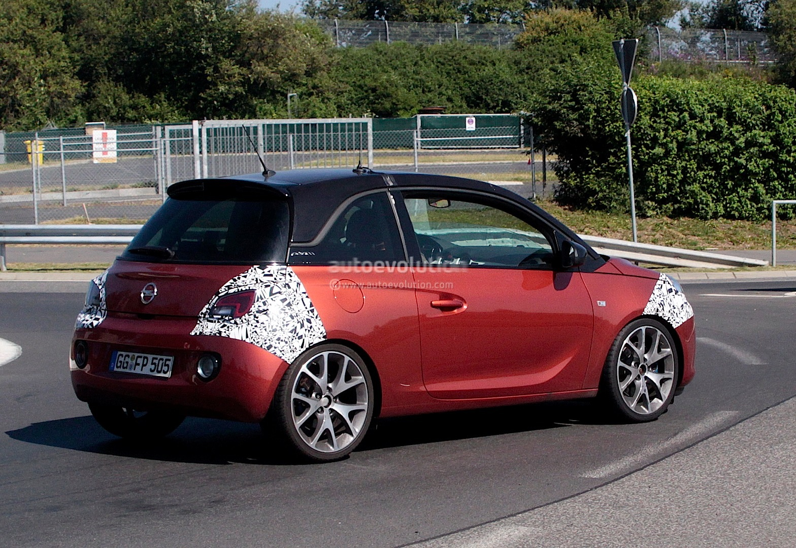 Spyshots Opel Adam Opc Or New Sidi Turbo Autoevolution