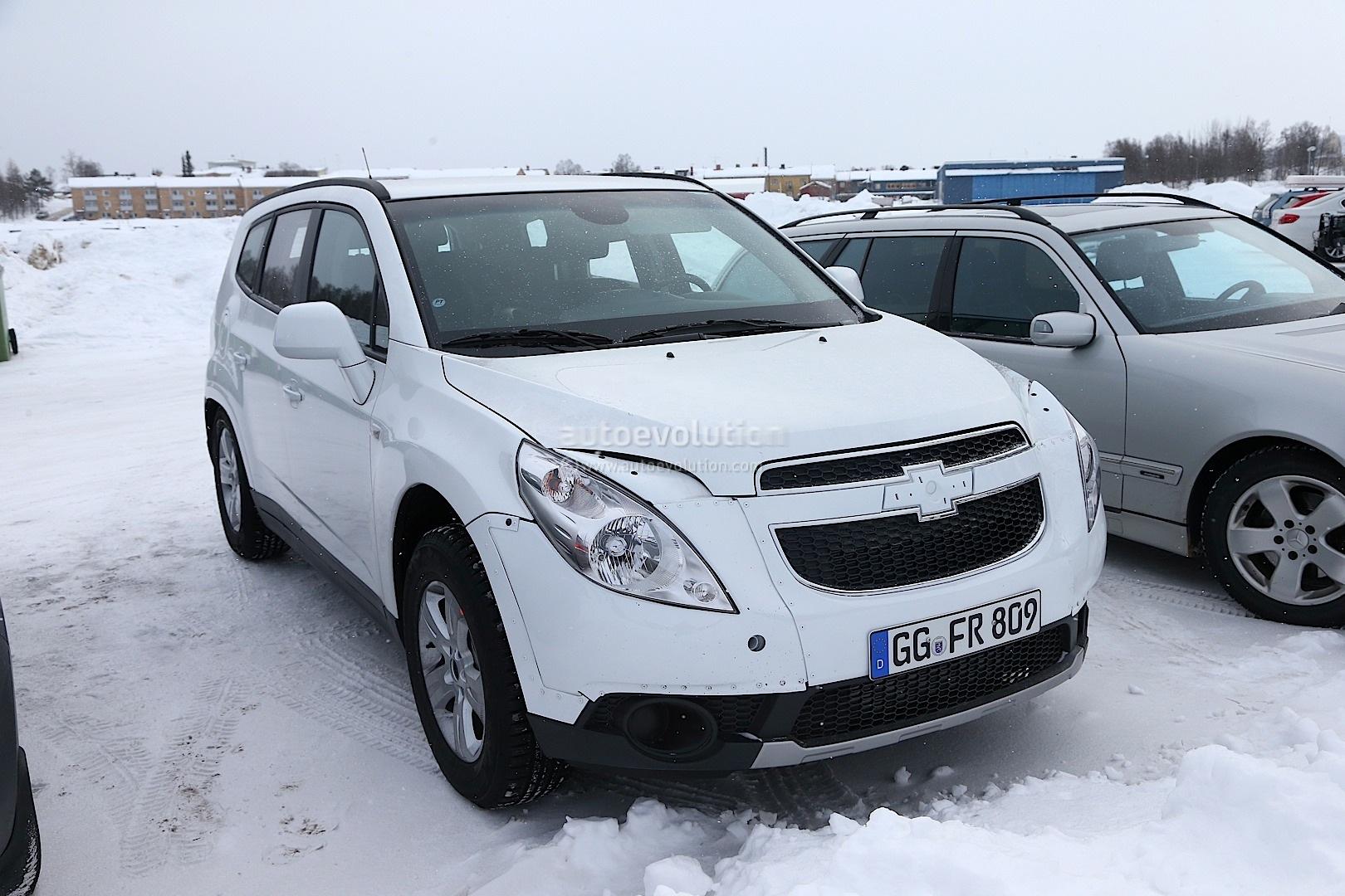 Spyshots Opel Antara Chevrolet Captiva Suv Test Mules