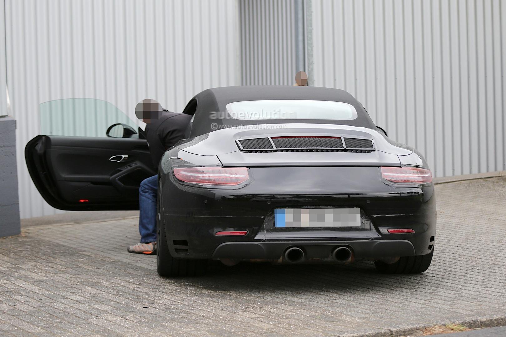 Spyshots Porsche 911 Gts And 911 Gts Cabriolet Begin