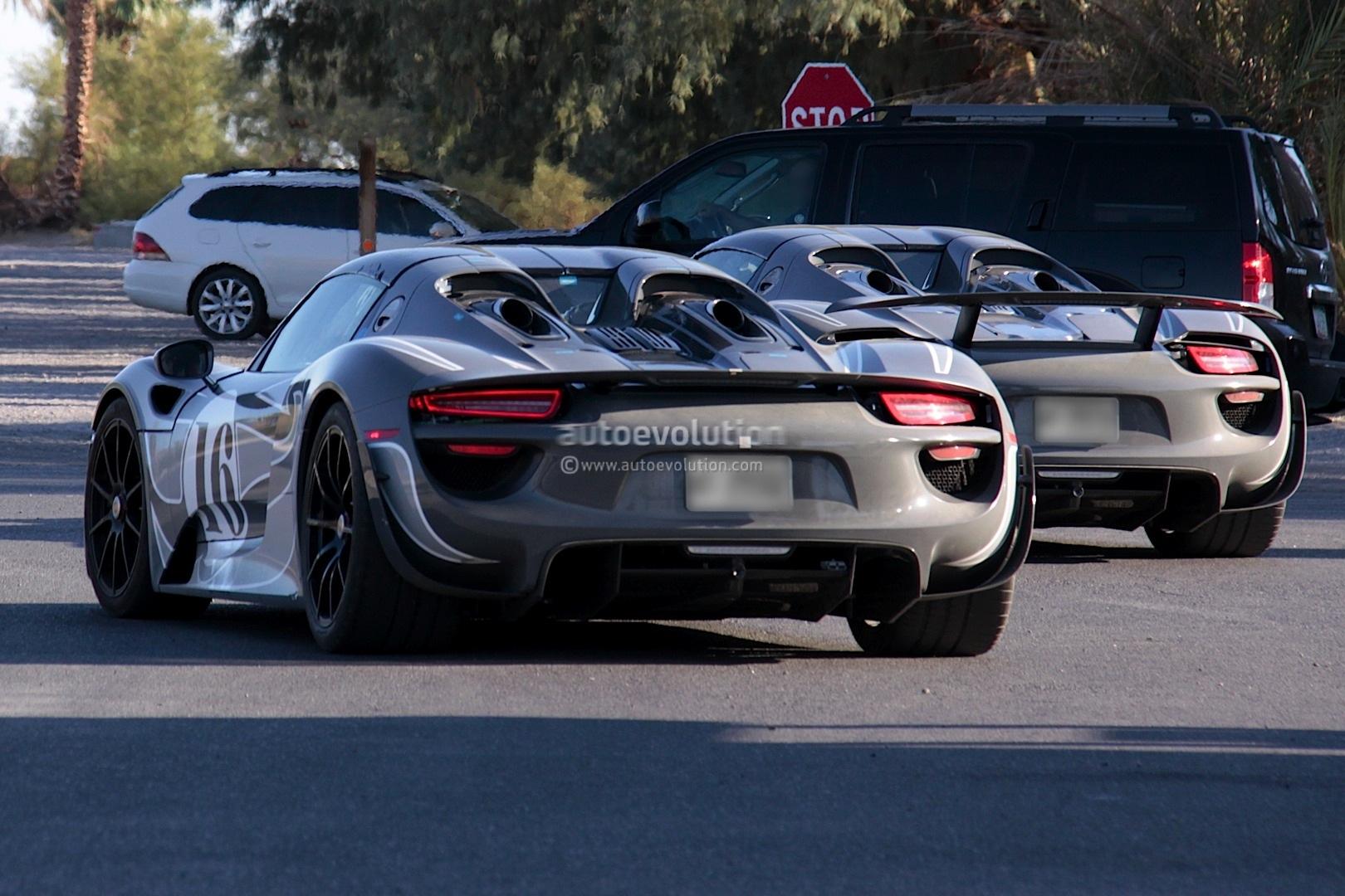 Spyshots Porsche 918 Spyder Spotted Testing In Us