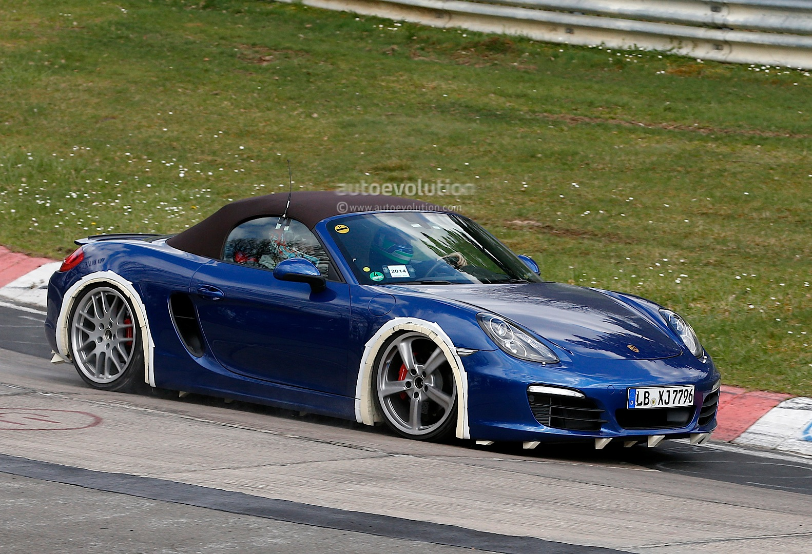 Spyshots Porsche Boxster 4 Cylinder Turbo Testing Begins