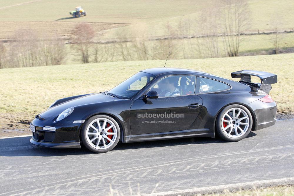 Spyshots Porsche Carrera 911 Gt3 Rs Autoevolution