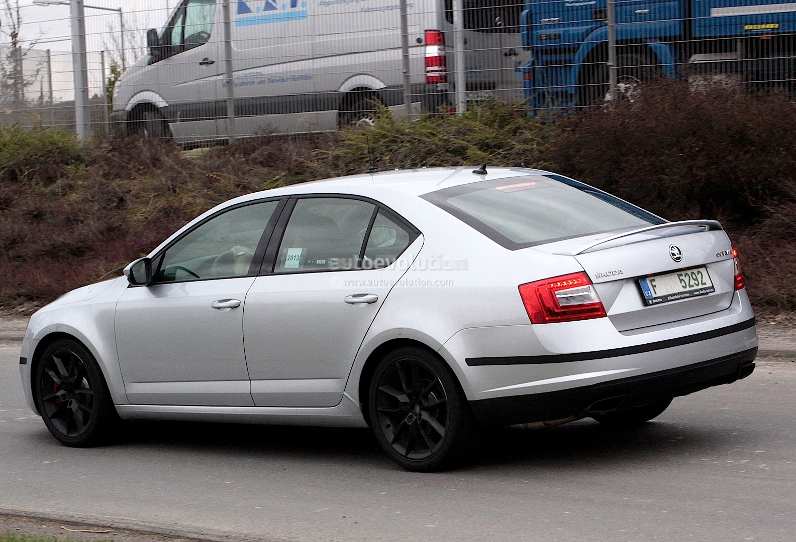spyshots skoda octavia rs iii at the nurburgring autoevolution. Black Bedroom Furniture Sets. Home Design Ideas