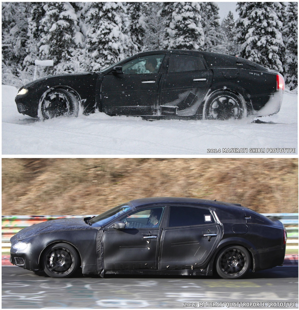 Spyshots: Snow-Covered Maserati Ghibli Spotted Testing