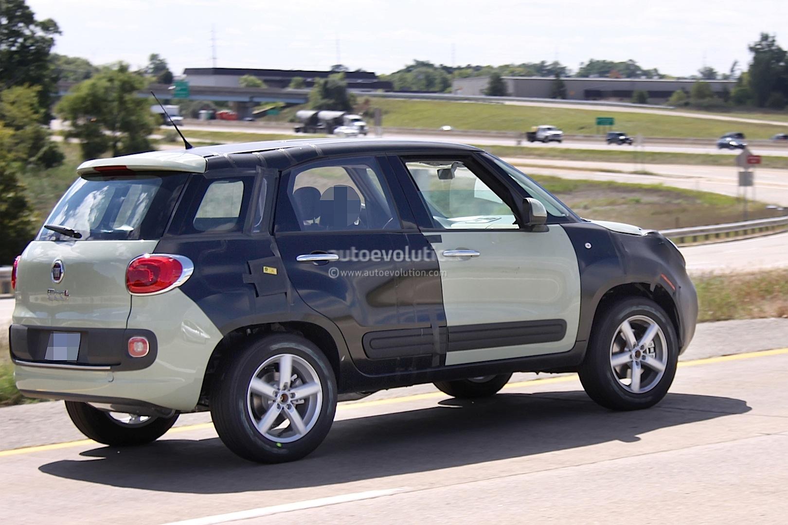 Spyshots Jeep B Suv Fiat Test Mule Autoevolution