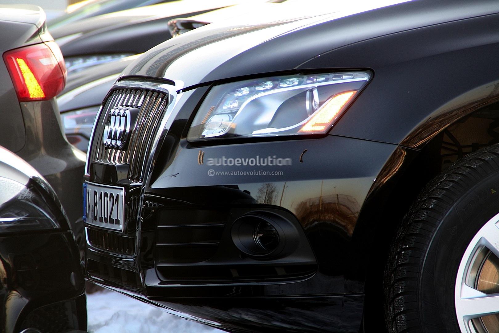 Spysyots 2013 audi q5 facelift autoevolution