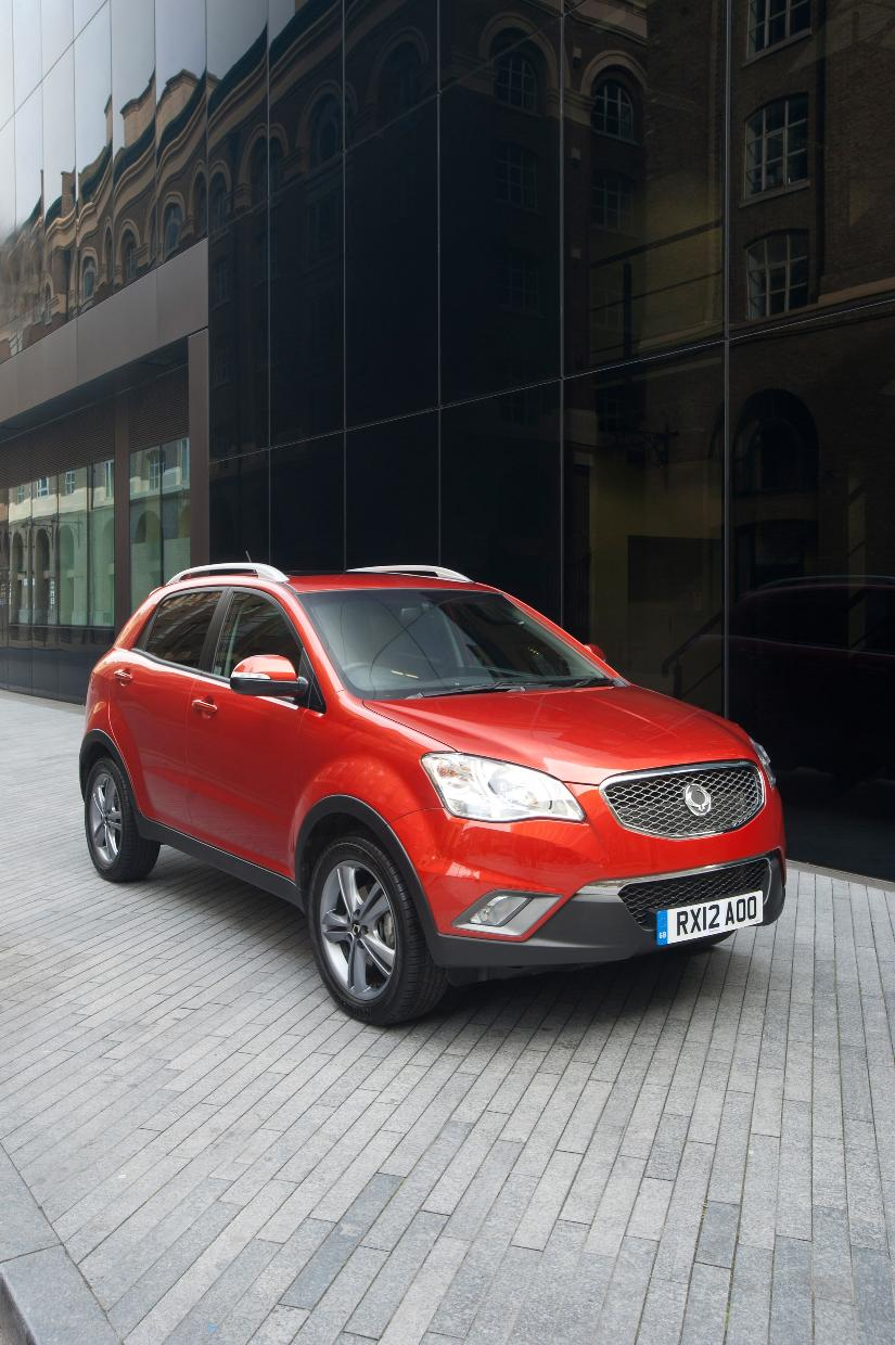 Ssangyong Korando Le Limited Edition Autoevolution