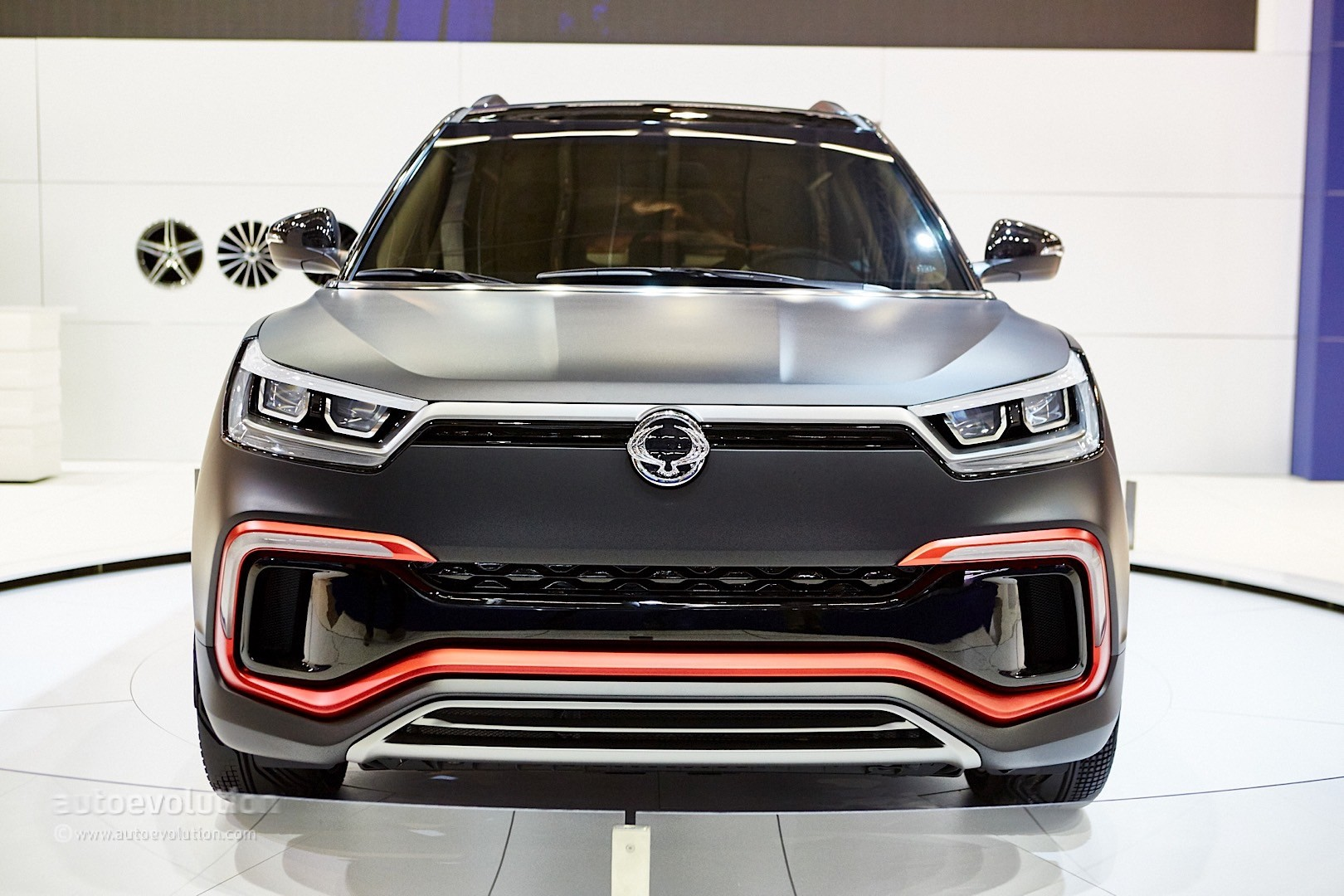 Active Auto Sales >> SsangYong XLV Shows Frankfurt how the LWB Tivoli Could, But Won't Look - autoevolution
