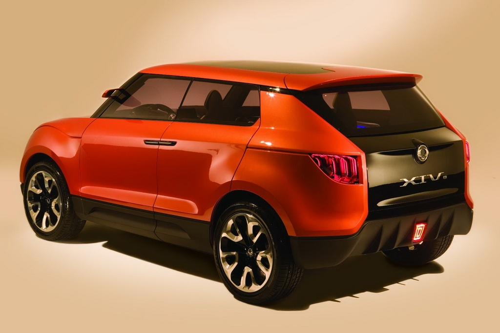 2011 ssangyong concept xuv - photo #7