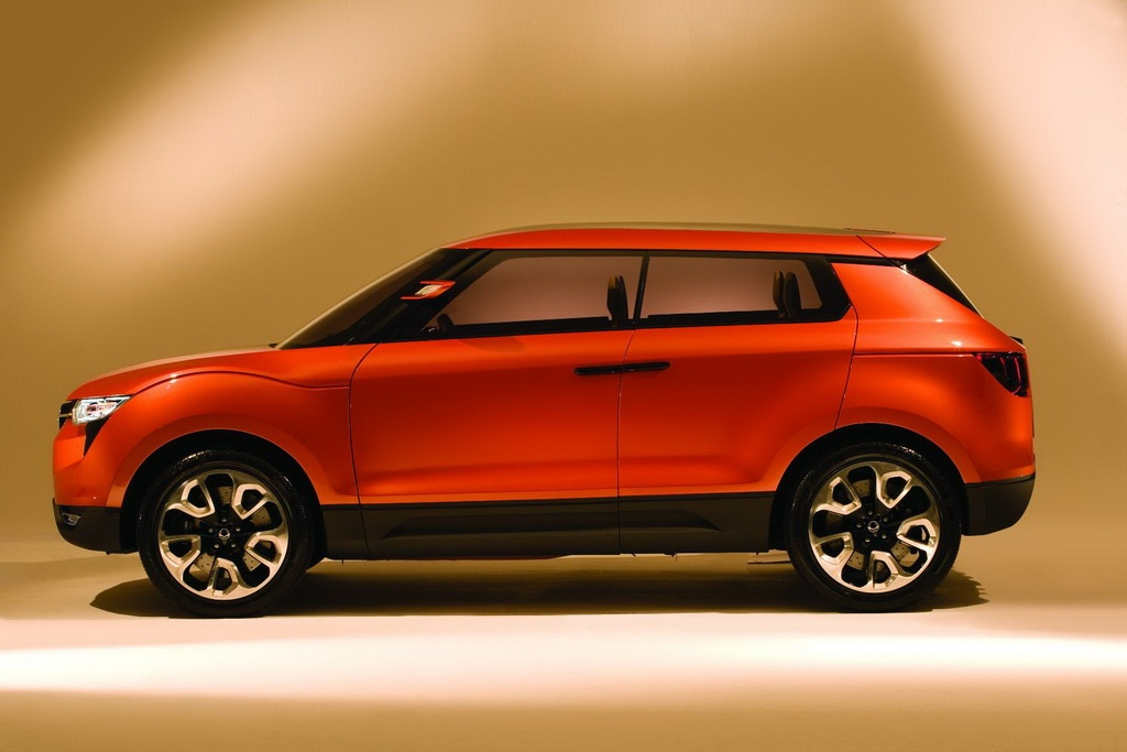 2011 ssangyong concept xuv - photo #6