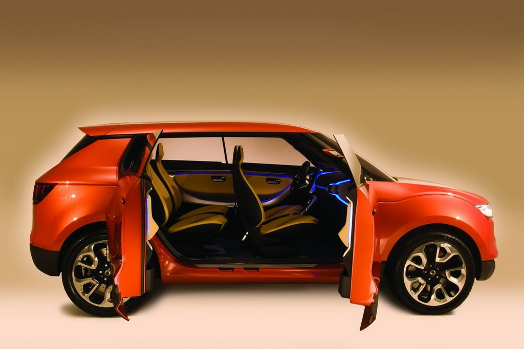 2011 ssangyong concept xuv - photo #13
