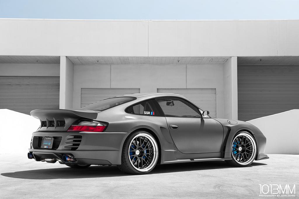Ssr Wheels Widebody Porsche 996 Autoevolution