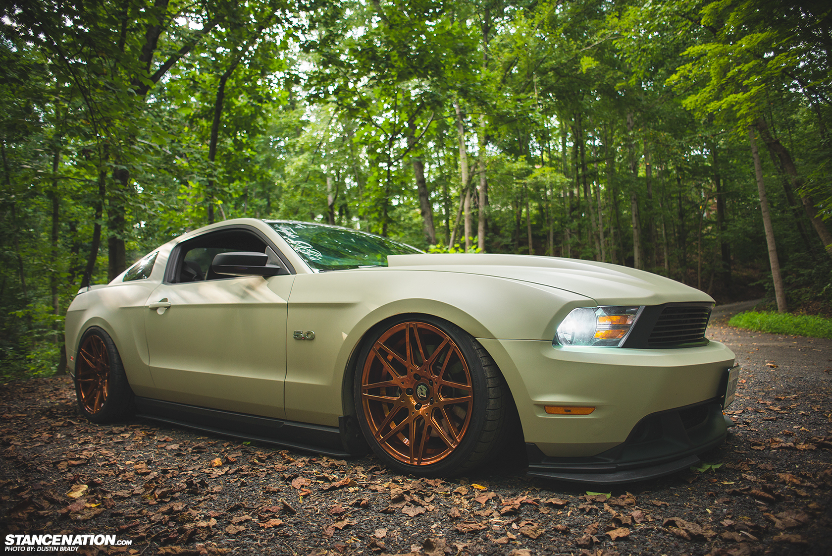 Stanced 755 Hp Ford Mustang Looks Cool Autoevolution