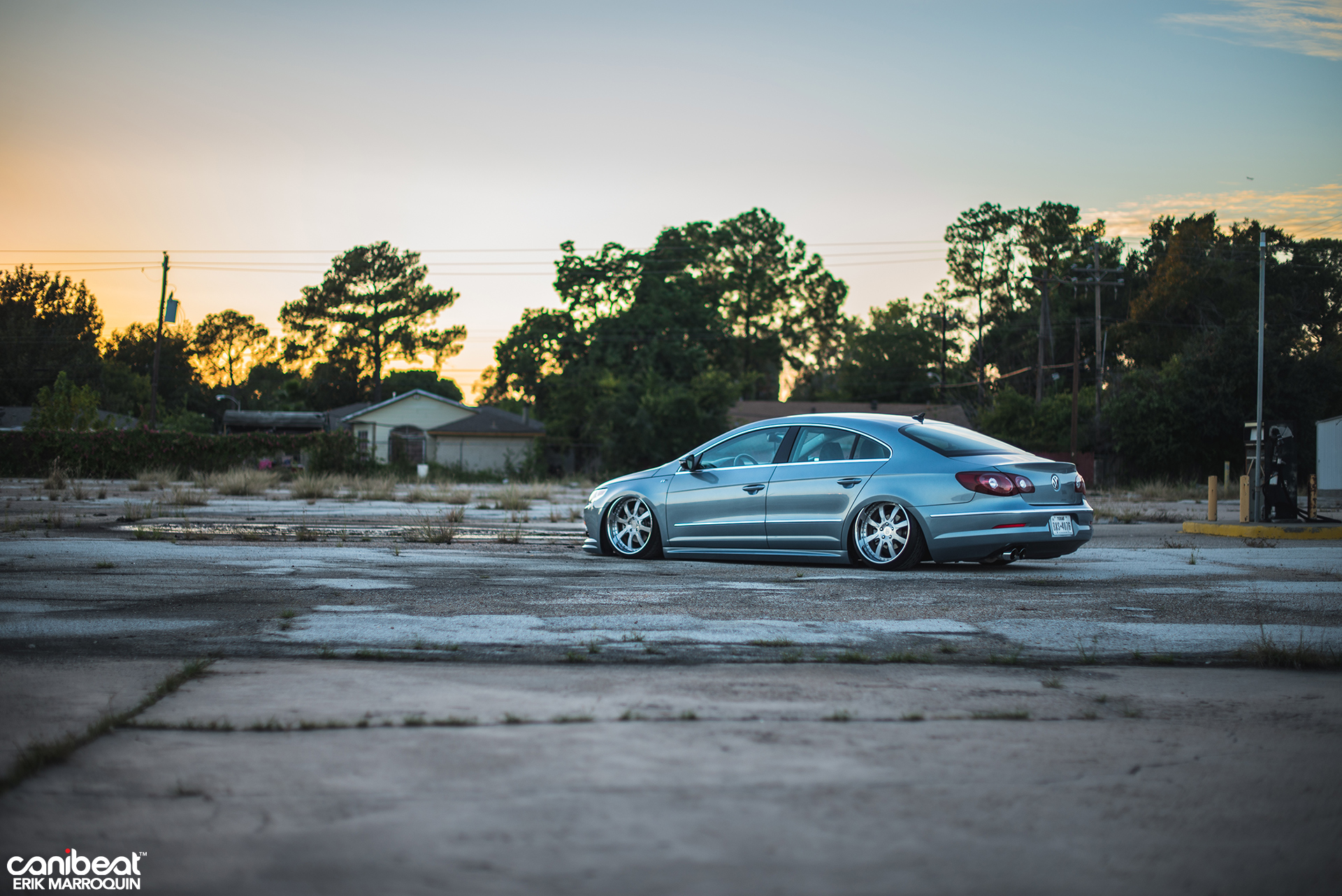 Stanced Volkswagen Passat CC R-Line Is a VIP Beauty - autoevolution