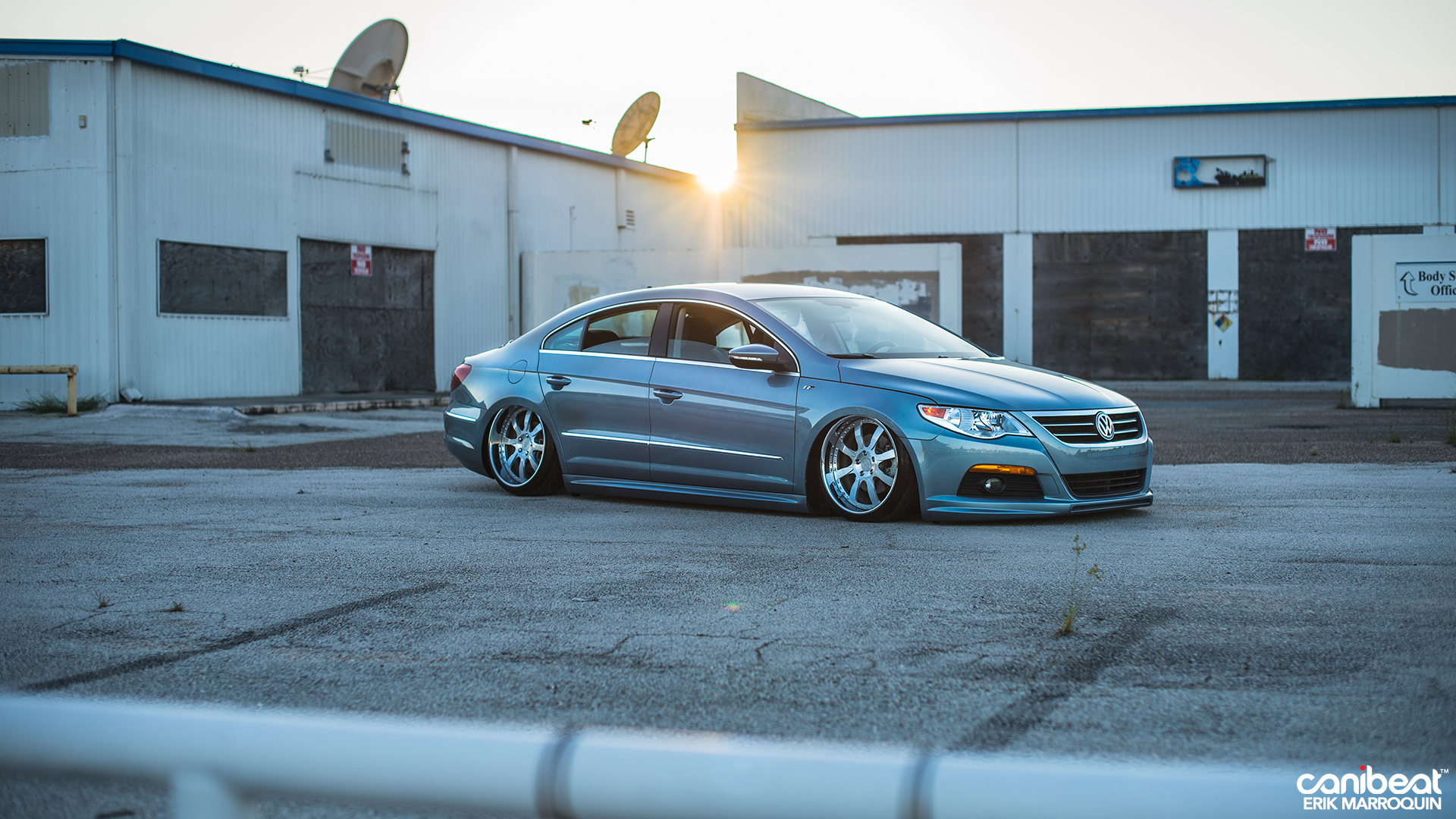 Stanced Volkswagen Passat CC R-Line Is a VIP Beauty ...