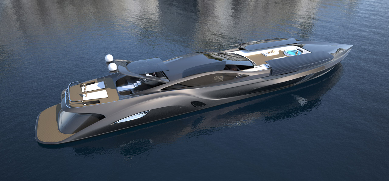 Stand Craft A Yacht With A Supercar Tender Autoevolution