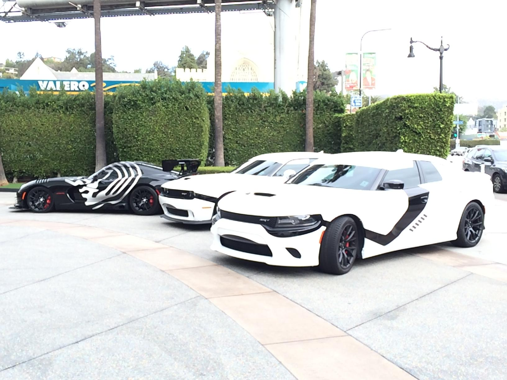 star wars dodge and viper take over the streets of l a autoevolution