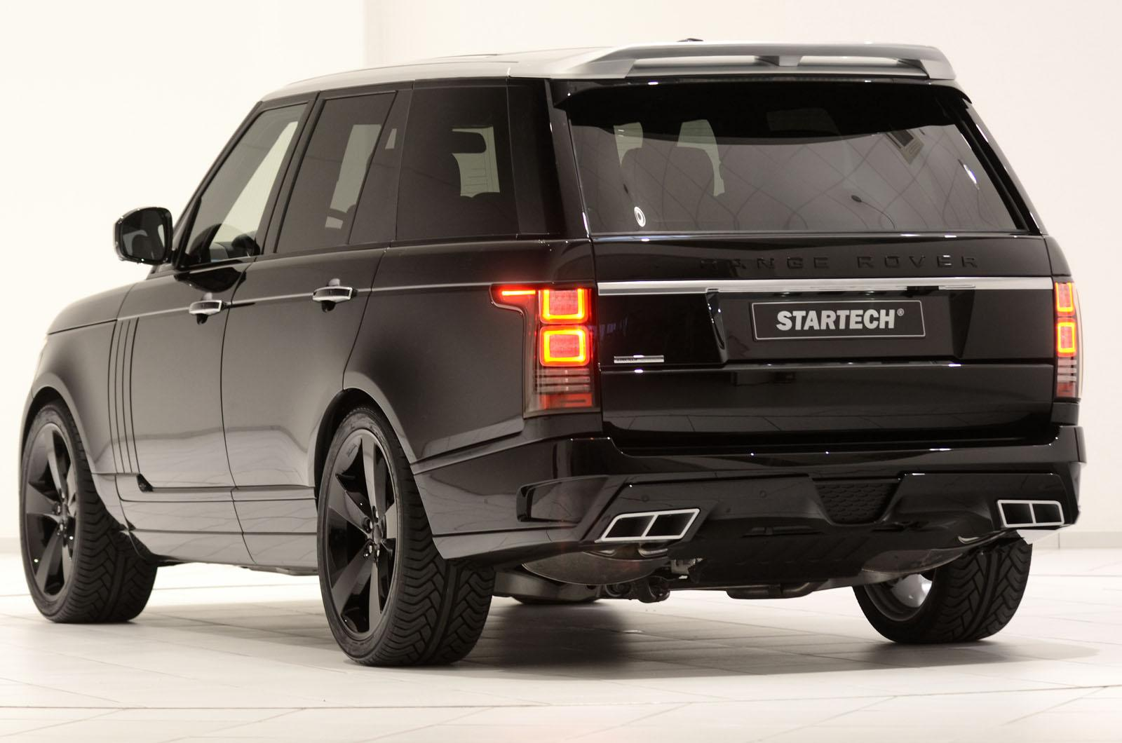 Startech Reveals Amazing Range Rover Body Kit Autoevolution