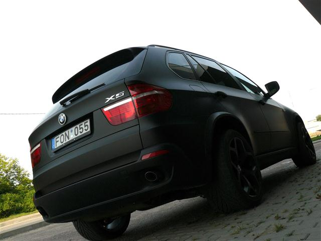 Stealth Suv Matte Black Bmw X5 From Lithuania Autoevolution