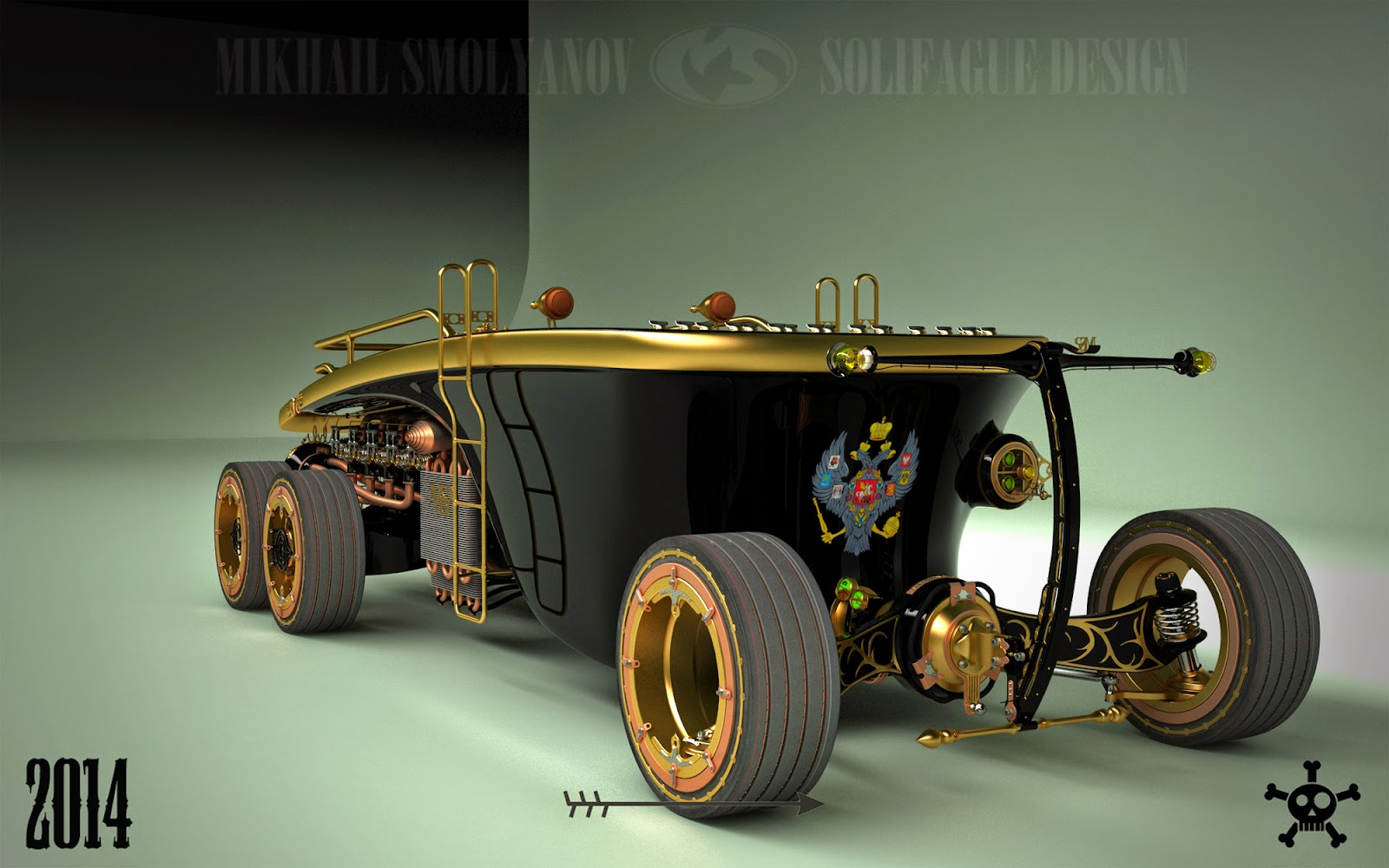 Steampunk Wheel Land Yacht Is A Car From The Future Past Photo Gallery on Bmw Z4 2016