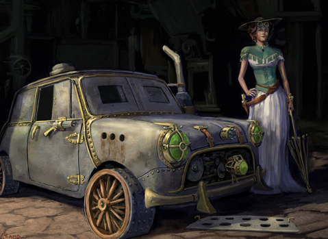 Steampunk Mini Countryman By Carlex Design Autoevolution