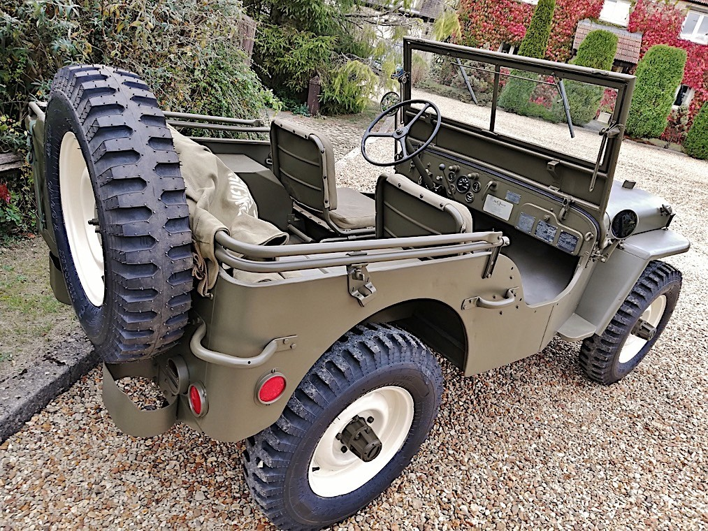 Steve McQueen's Military 1945 Willys Jeep MB for Sale at Auction