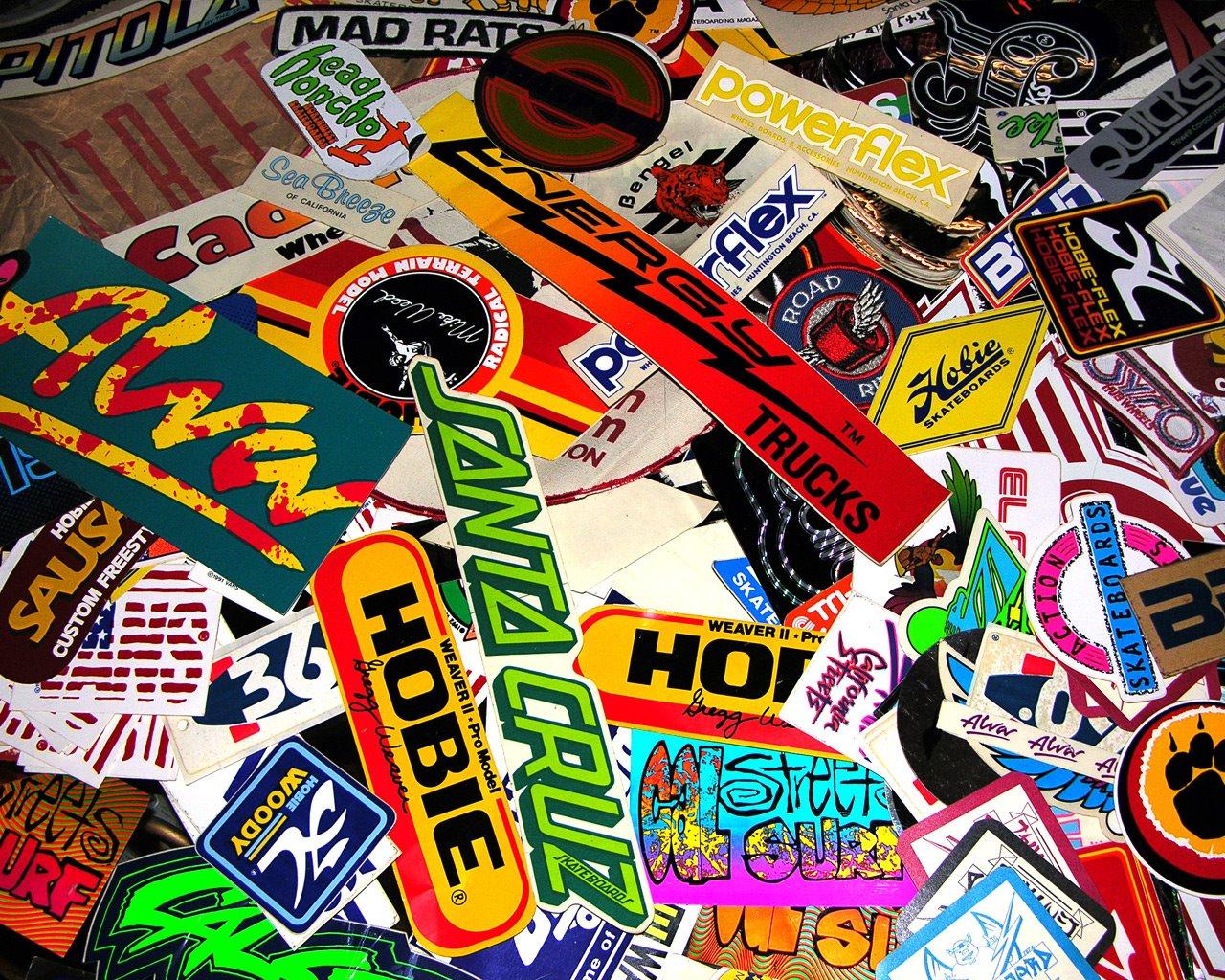 Sticker bomb car design - Stickerbomb Cars Stickerbomb