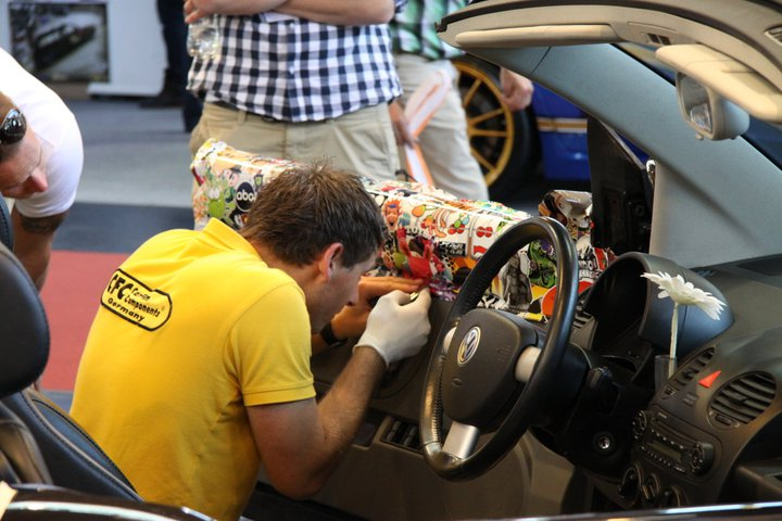 Sticker Bomb and the Geeky Art of Cartoon Car Wrapping - autoevolution