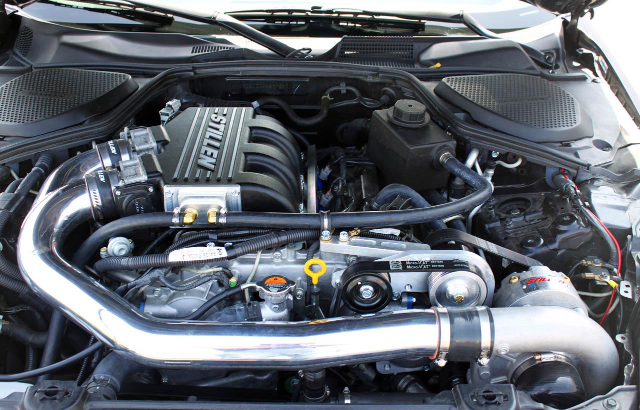 Stillen Supercharges Nissan 370Z and Infiniti G37 - autoevolution