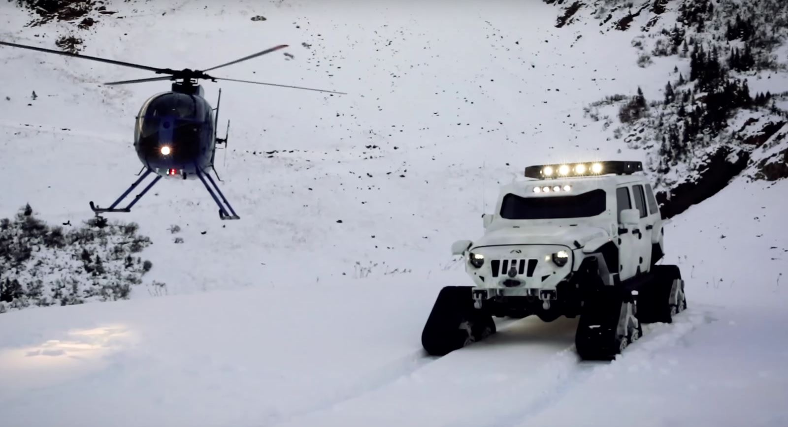 Stormtrooper Jk Jeep With Tracks Is Called Quot Arctic Frog