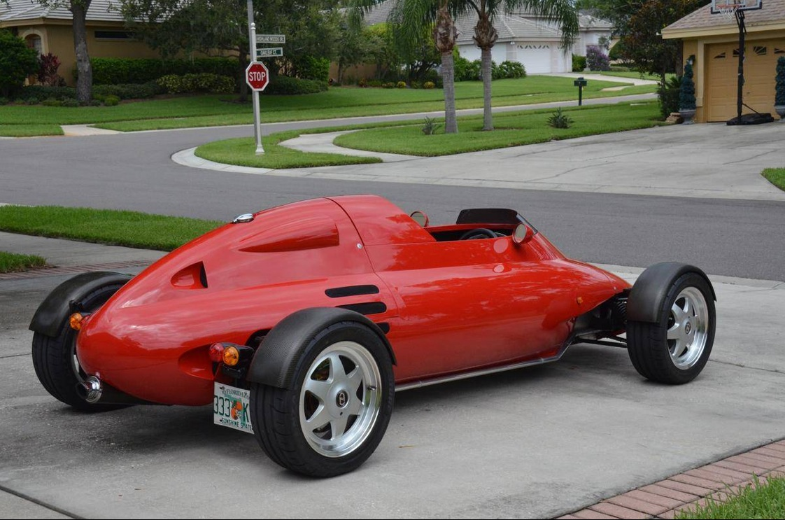 Street Legal 1992 LCC Rocket Single Seater for Sale - autoevolution