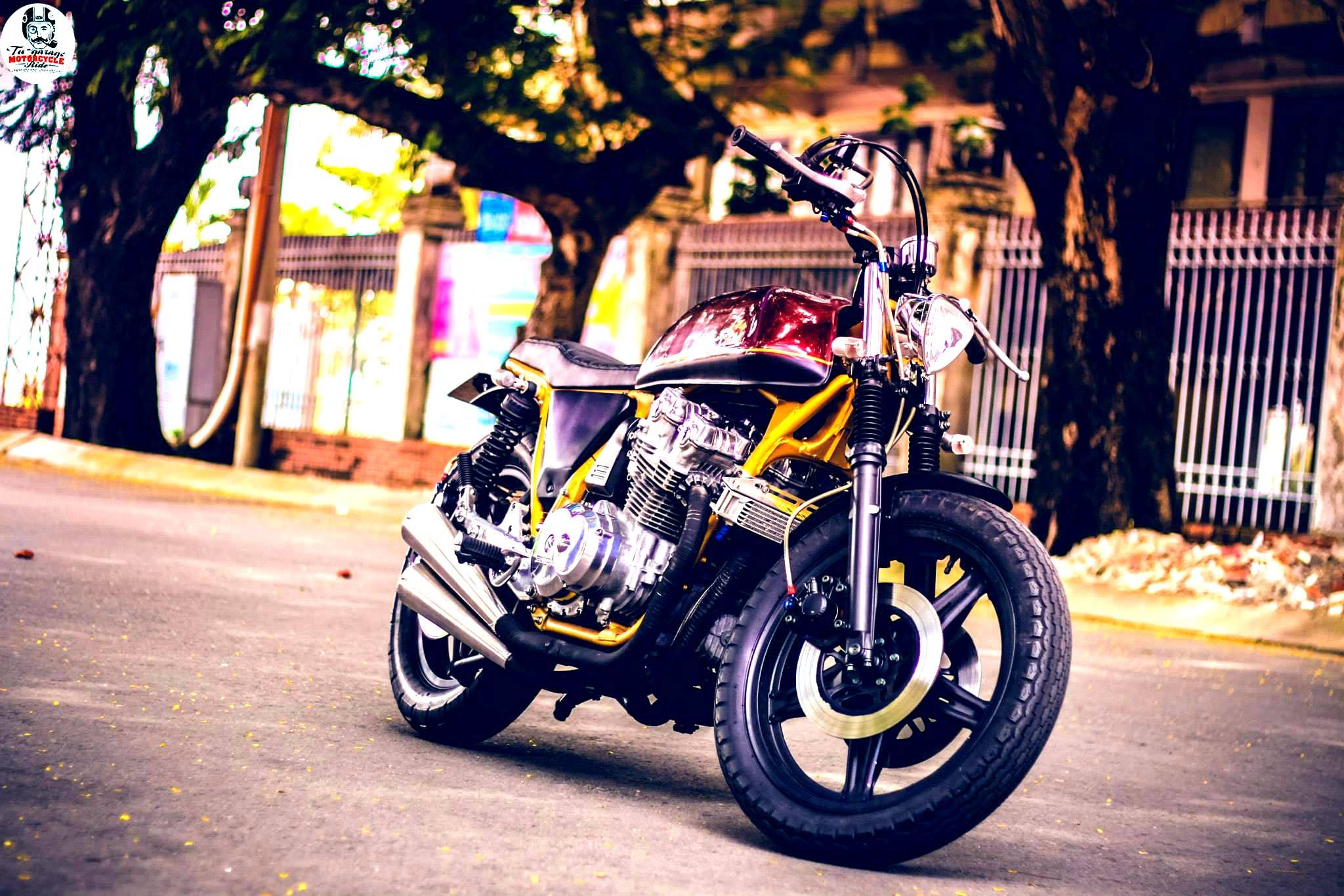 Street Tracker Honda CB750F Shows More Vietnamese Custom ...