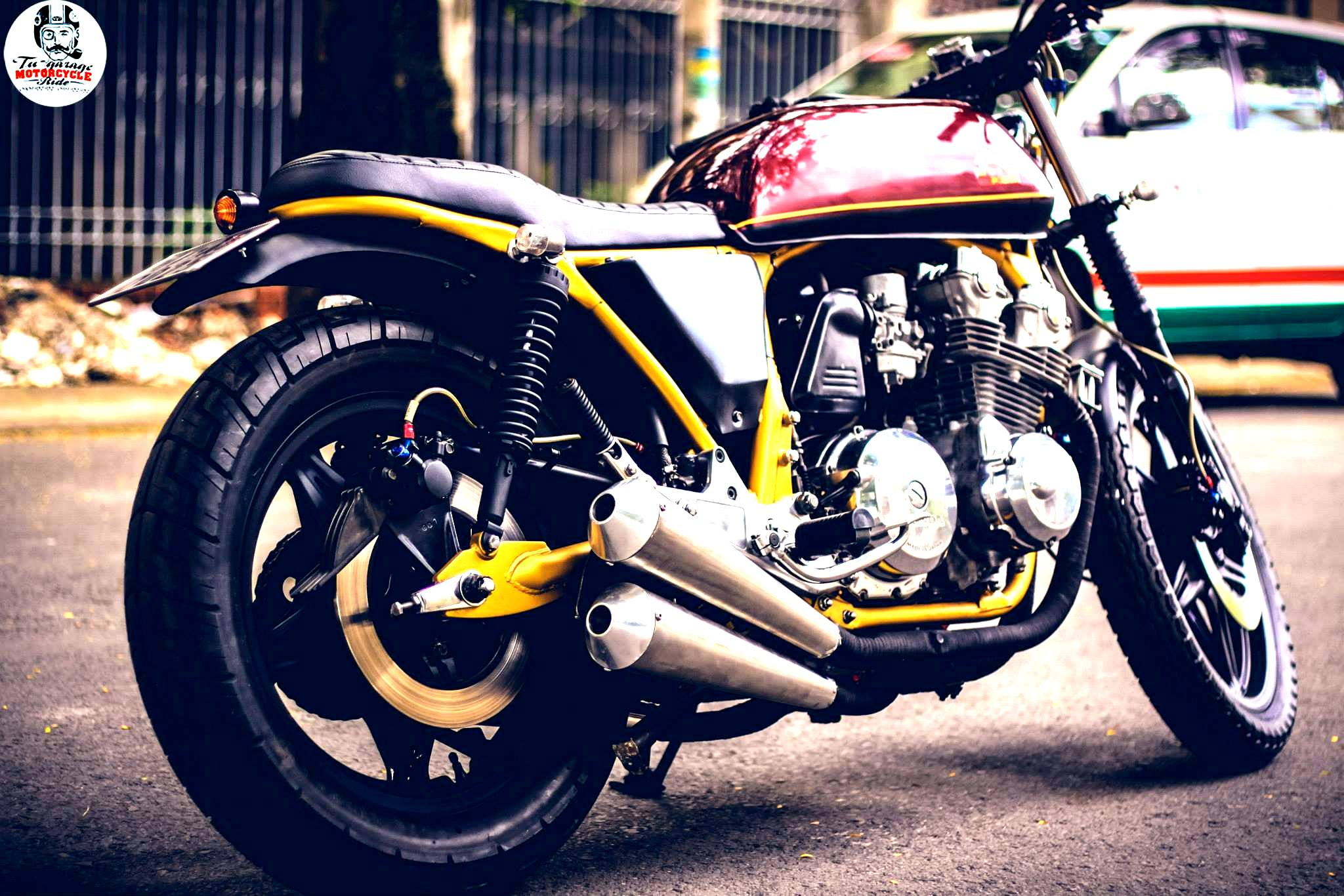 Street Tracker Honda Cb750f Shows More Vietnamese Custom