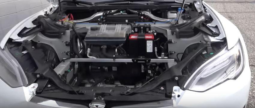 Stripped Tesla Model S P100d Does 10 44s Quarter Mile