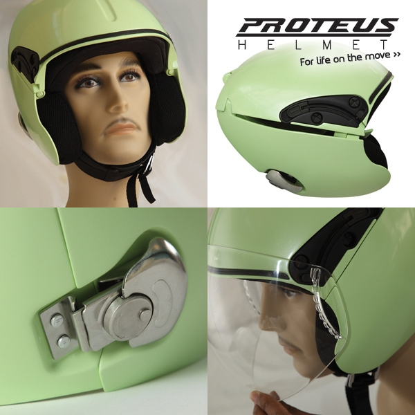 Safest Motorcycle Helmet >> Students Creates Proteus Foldable Motorcycle Helmet ...