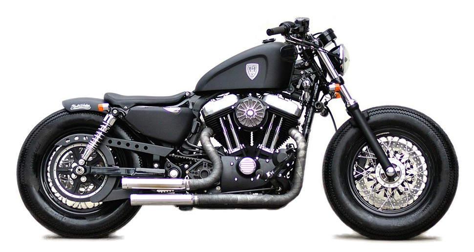 studio motor custom harley davidson sportster forty eight autoevolution. Black Bedroom Furniture Sets. Home Design Ideas