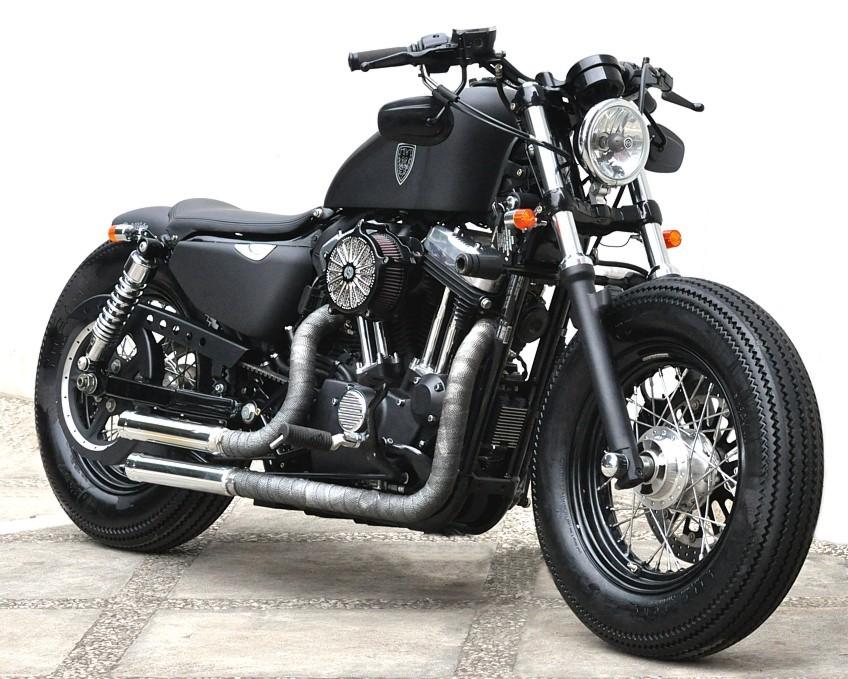 Studio Motor Custom Harley Davidson Sportster Forty Eight