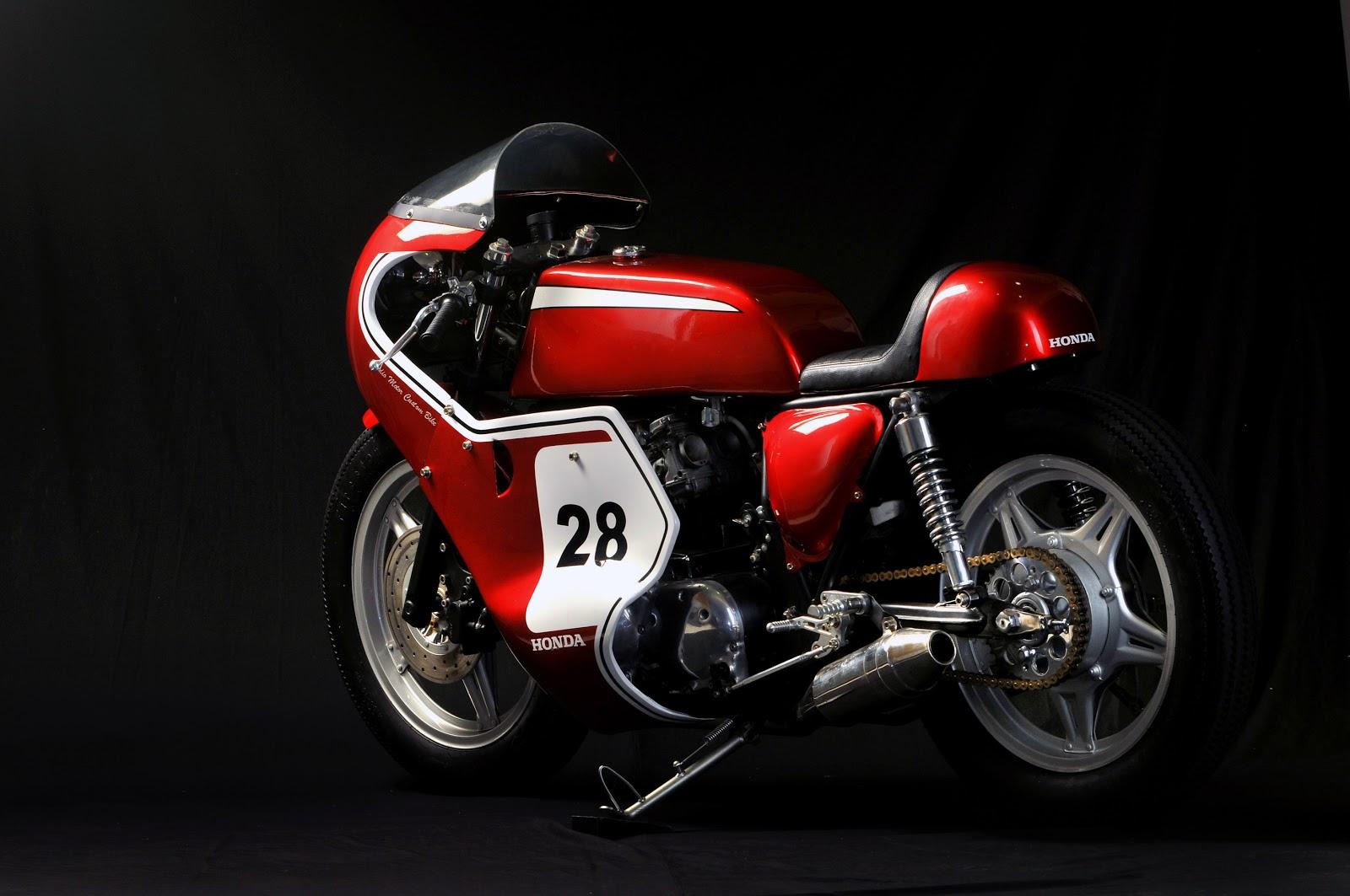 Studio Motor Custom Honda CB750