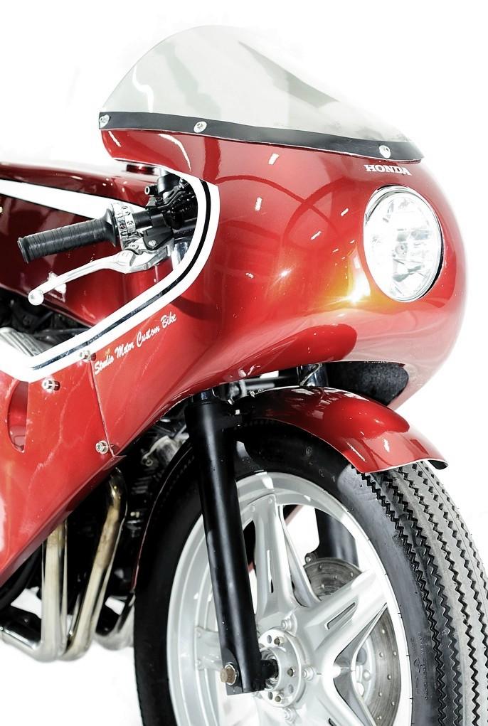 Studio Motor Custom Honda Cb750 Autoevolution