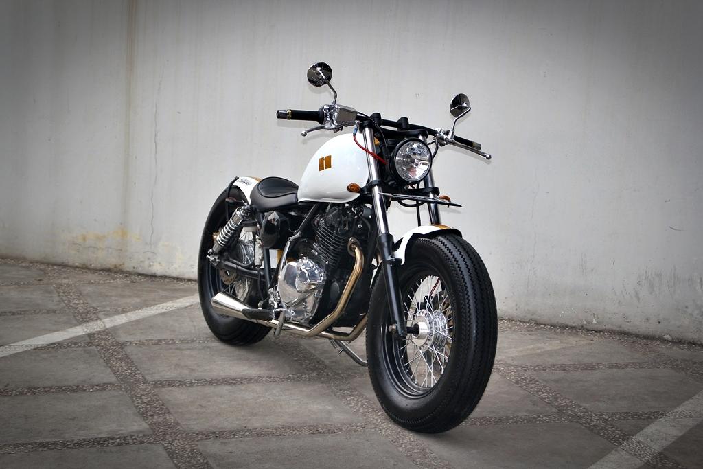 studio motor hooligan custom suzuki thunder 250