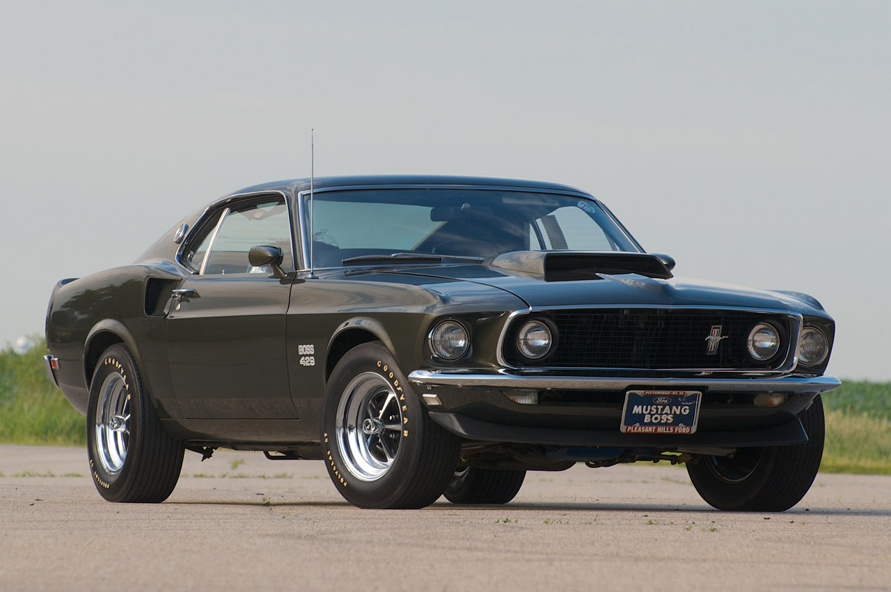 stunning 1969 ford mustang boss 429 going up for auction autoevolution. Black Bedroom Furniture Sets. Home Design Ideas