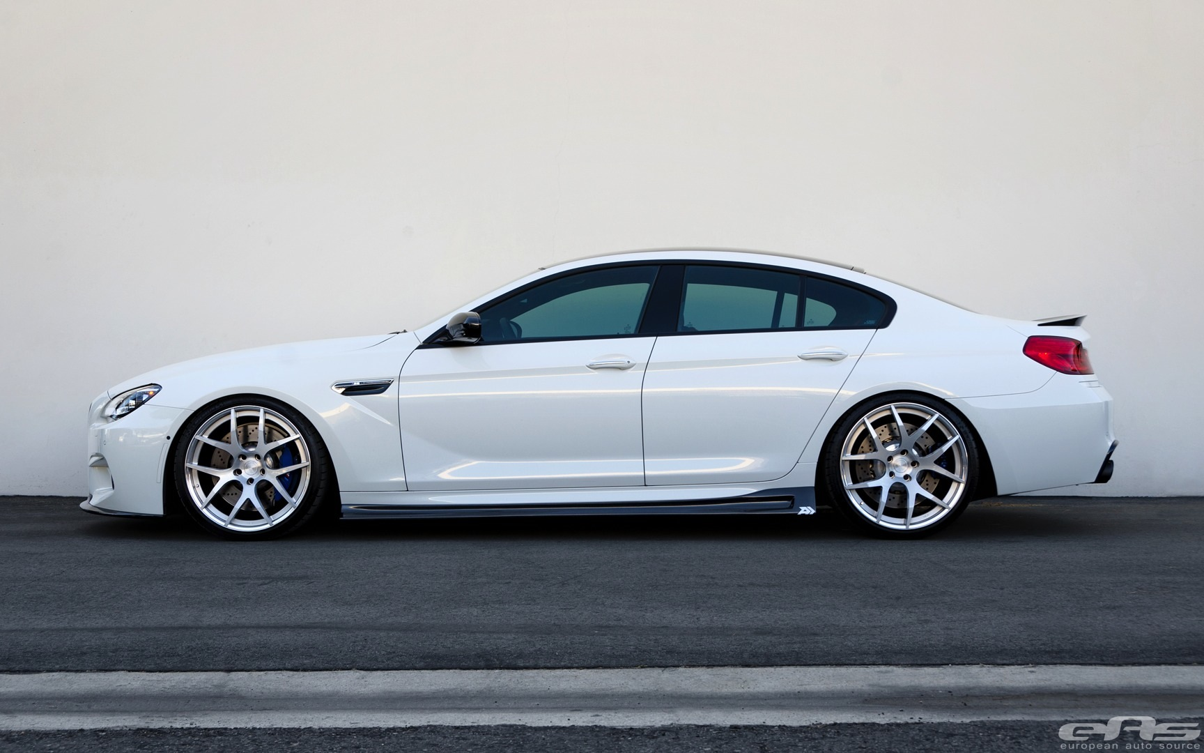 Stunning Alpine White Bmw M6 Gran Coupe Gets Arkym Body Kit Autoevolution