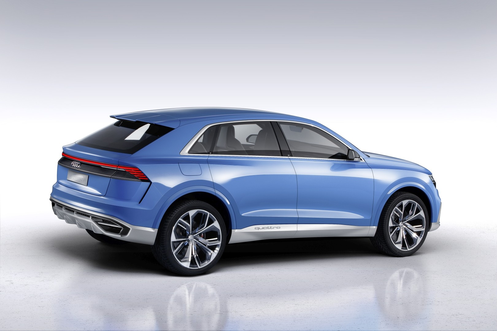 stunning audi q8 concept will morph into an suv coupe flagship in 2018 autoevolution. Black Bedroom Furniture Sets. Home Design Ideas