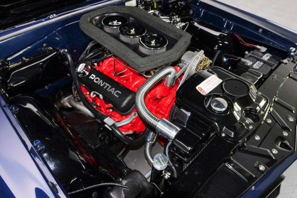 Stunning Restomod 1965 Pontiac GTO Convertible Up for Sale