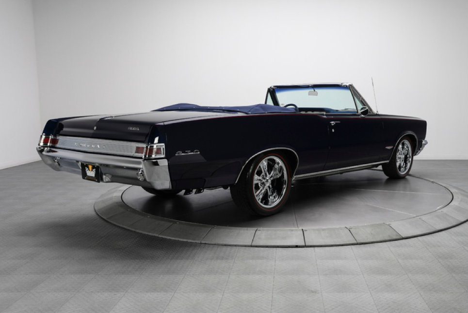 Used Harleys For Sale >> Stunning Restomod 1965 Pontiac GTO Convertible Up for Sale ...