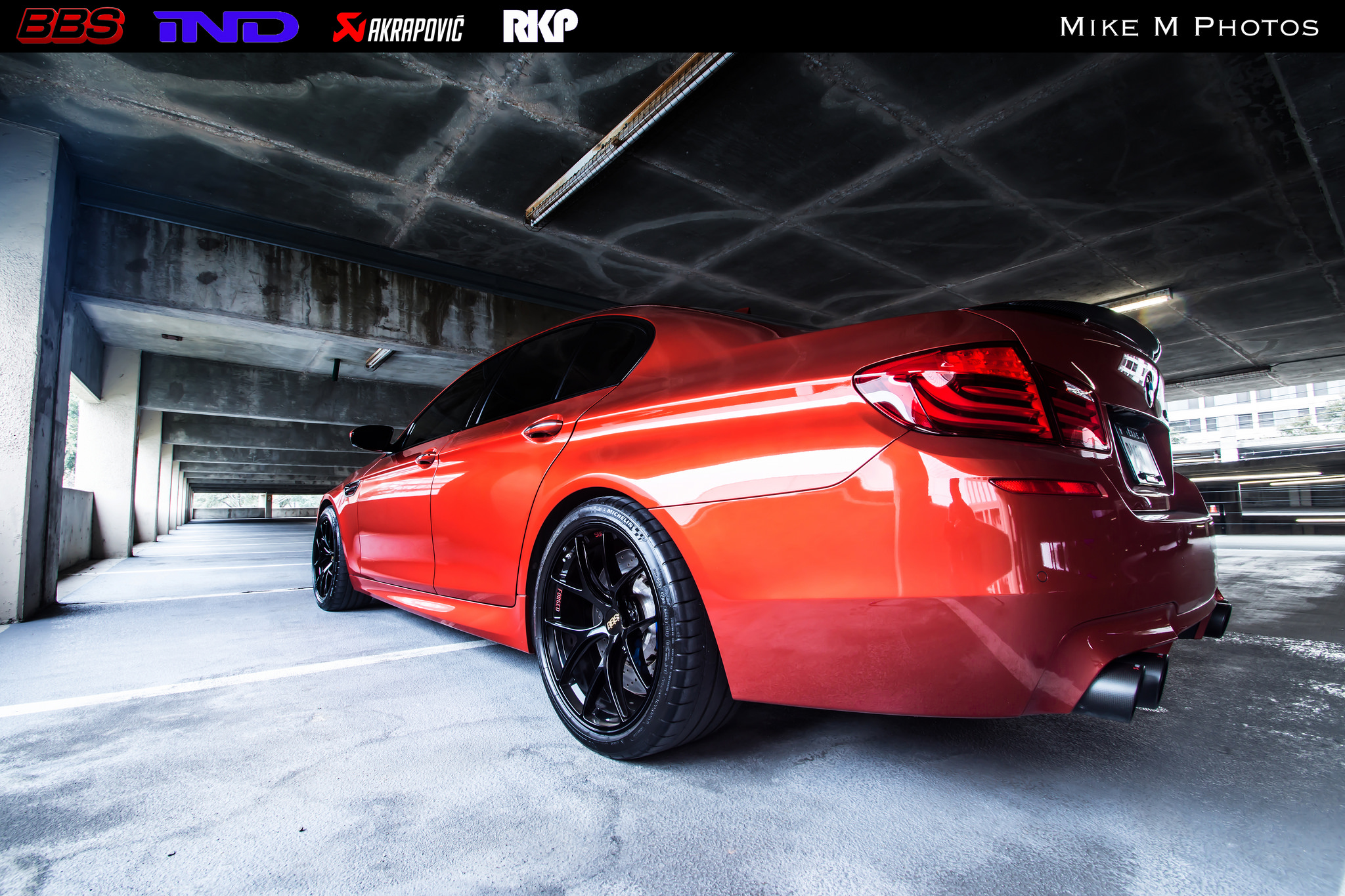 Stunning Sakhir Orange BMW M5 Poses Underground ...