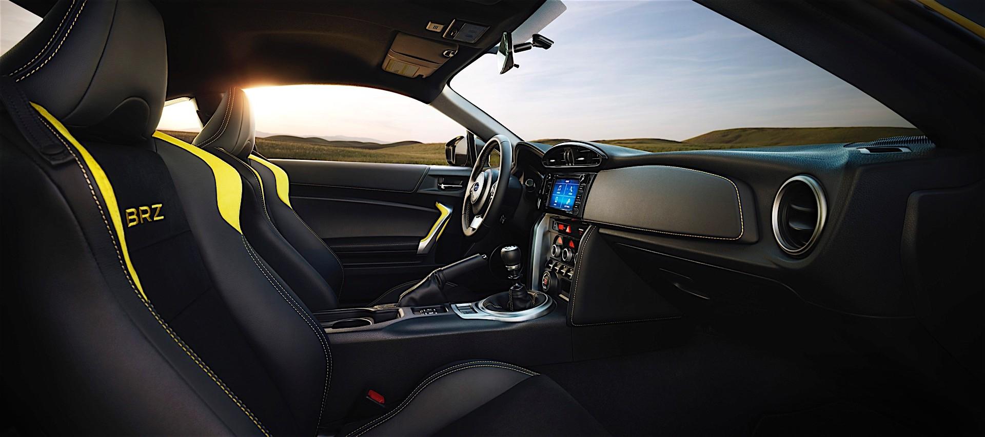 2017 Subaru Brz Yellow Special Edition